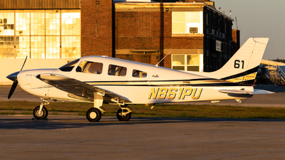 N861PU - Piper PA-28-181 Archer TX - Purdue University