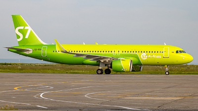 A picture of VQBDQ - Airbus A320271N - S7 Airlines - © Roman Deppershmidt