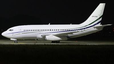 VP-CAQ - Boeing 737-2V6 (ADV) - Jet Connections