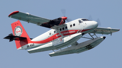 8Q-MAO - De Havilland Canada DHC-6-300 Twin Otter - Trans Maldivian Airways