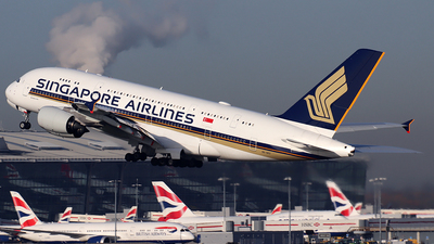 9V-SKU - Airbus A380-841 - Singapore Airlines - Flightradar24