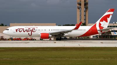 C-GHLV - Boeing 767-36N(ER) - Air Canada Rouge