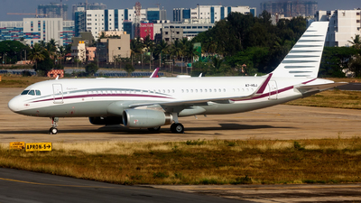 A7-HSJ - Airbus A320-214(CJ) Prestige - Qatar - Amiri Flight