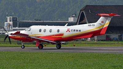 A picture of HBFSI - Pilatus PC12 -  - © Mirko Bleuer