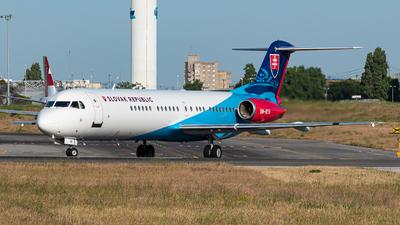 OM-BYB - Fokker 100 - Slovakia - Government Flying Service