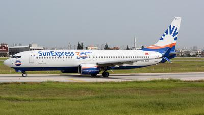 A picture of TCSOA - Boeing 7378HC - SunExpress - © Kayra D.