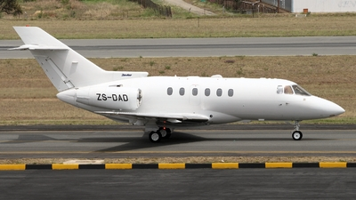 ZS-DAD - Hawker Beechcraft 800XP - Private