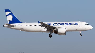 F-HZGS - Airbus A320-214 - Air Corsica