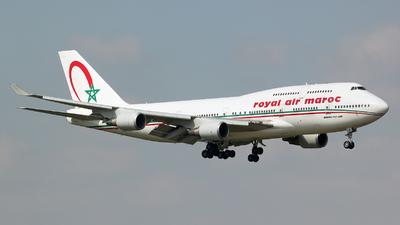 CN-RGA - Boeing 747-428 - Royal Air Maroc (RAM)