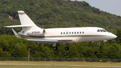 N785AD - Dassault Falcon 2000LX - Private