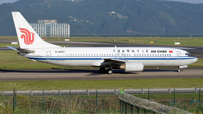 A picture of B2657 - Boeing 73789L - Air China - © BCG554