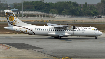XY-AJN - ATR 72-212A(500) - Myanmar National Airlines