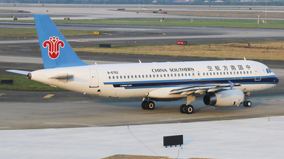 B-6762 - Airbus A320-232 - China Southern Airlines
