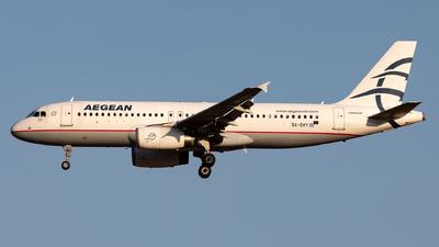 SX-DVY - Airbus A320-232 - Aegean Airlines