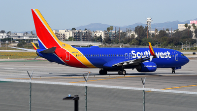 A picture of N8515X - Boeing 7378H4 - Southwest Airlines - © Rocky Wang