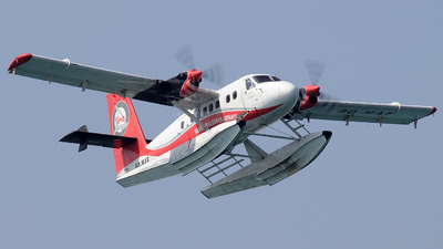8Q-MAF - De Havilland Canada DHC-6-300 Twin Otter - Trans Maldivian Airways