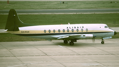 G-ARGR - Vickers Viscount 708 - Alidair