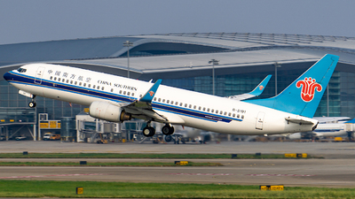 A picture of B5191 - Boeing 73781B - China Southern Airlines - © Roy Huang