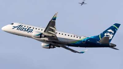 A picture of N639QX - Embraer E175LR - Alaska Airlines - © Ricky Teteris