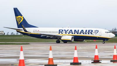 A picture of SPRSL - Boeing 7378AS - Ryanair - © Jamie PD @jamie.aviation