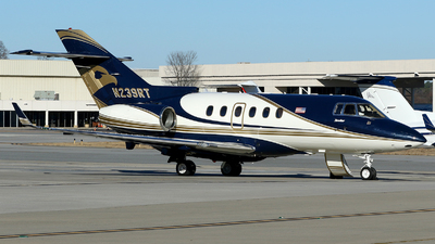 A picture of N239RT - Hawker 900XP - [HA0120] - © Carlos Barcelo