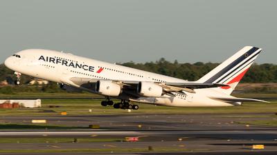F-HPJB - Airbus A380-861 - Air France