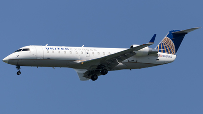 A picture of N868AS - Mitsubishi CRJ200LR - United Airlines - © Angelos Panou