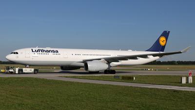 D-AIKS - Airbus A330-343 - Lufthansa