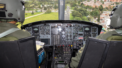 PNC-0488 - Bell 212HP - Colombia - Police