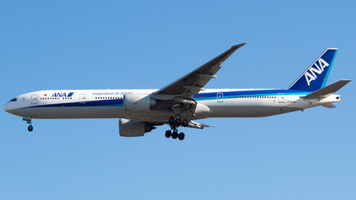A picture of JA787A - Boeing 777381(ER) - All Nippon Airways - © DreamRiser