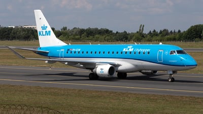A picture of PHEXW - Embraer E175STD - KLM - © PM