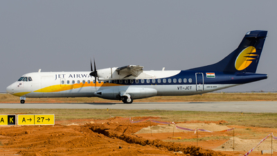 VT-JCT - ATR 72-212A(500) - Jet Airways