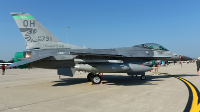 90-0731 - General Dynamics F-16CG Fighting Falcon - United States - US Air Force (USAF)