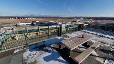KBTV - Airport - Spotting Location