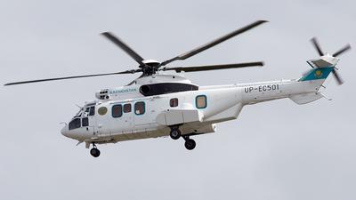 UP-EC501 - Eurocopter EC 225LP Super Puma II+ - Kazakhstan - Government