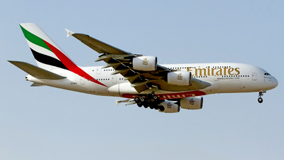 A picture of A6EEX - Airbus A380861 - Emirates - © M. Azizul Islam