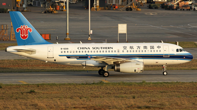 B 6019 Airbus A319 132 China Southern Airlines