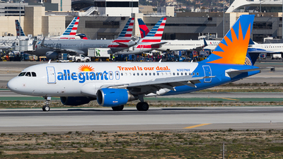 N307NV - Airbus A319-112 - Allegiant Air