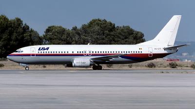 OO-LTT - Boeing 737-4Q8 - Euro Belgian Airlines (EBA)