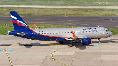 VP-BJW - Airbus A320-214 - Aeroflot
