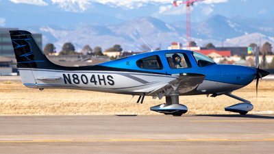 N804HS - Cirrus SR22T-Xi - Private