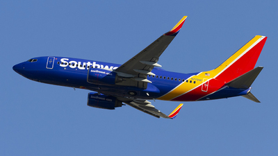 A picture of N7720F - Boeing 7377BD - Southwest Airlines - © Jeremy D. Dando