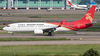 A picture of B1516 - Boeing 73787L - Shenzhen Airlines - © Leng Hao