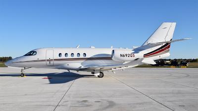 N692QS - Cessna Citation Latitude - NetJets Aviation