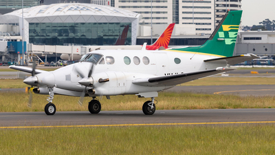 A picture of VHILQ - Beech C90A King Air - [LJ1227] - © Mark B Imagery