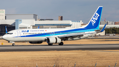 A picture of JA73AN - Boeing 737881 - All Nippon Airways - © LUSU