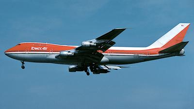 N747BA - Boeing 747-124(SF) - Tower Air