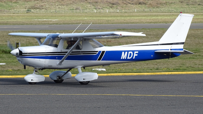 ZK-MDF - Cessna 152 - New Zealand International Commercial Pilot Academy