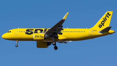A picture of N915NK - Airbus A320271N - Spirit Airlines - © Evan Dougherty
