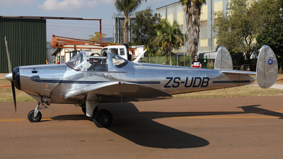 ZS-UDB - Erco Ercoupe 415D - Private